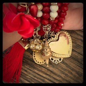 Home made bracelets